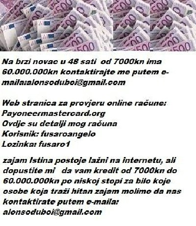 trebate 2000€ mail:alonsoduboi@gmail.com
