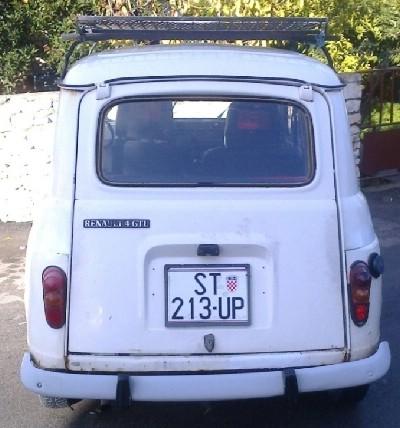 Renault 4 GTL,prodajem