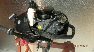 Vanbrodski motor Suzuki DF2.5