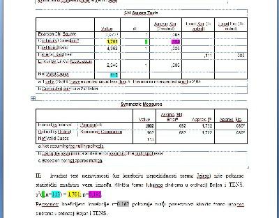 Rješavamo statističke probleme u SPSS-u