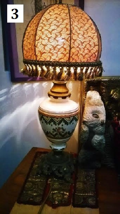 Unikatne stilske lampe