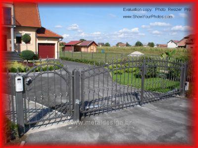Kovane ograde 1  Košćak-3D Metal