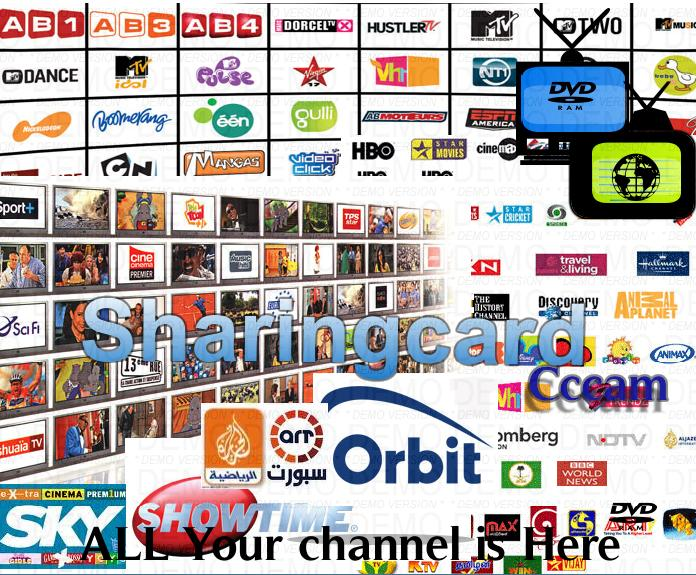 Premium CardSharingTV-Radio-Video-Stereo