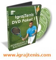 IgrajTenis DVD/Video Paket 1